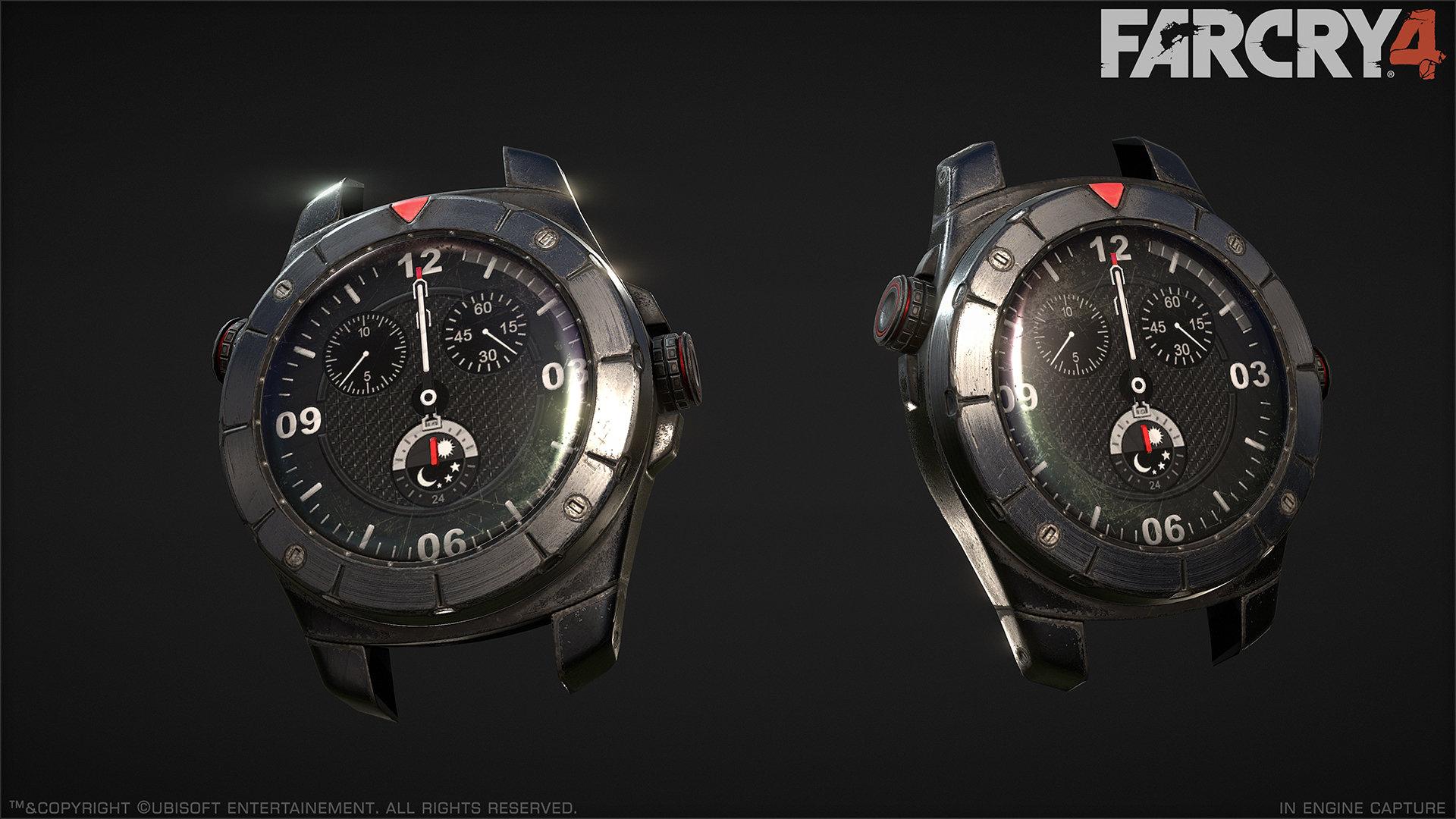 Artstation Far Cry 4 Ajay S Watch Greg Rassam