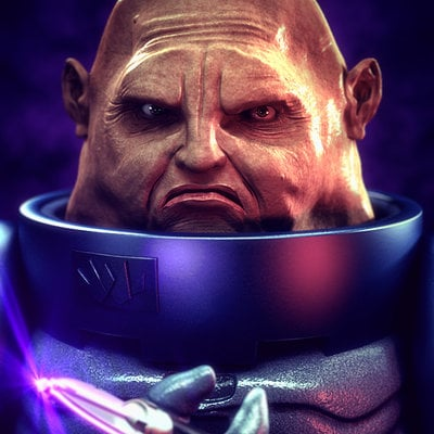 Guile kuma sontaran render final
