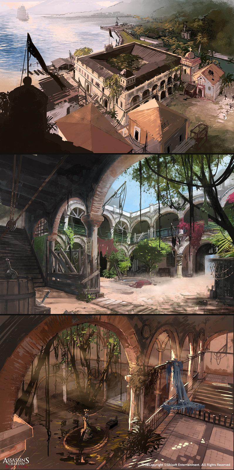Assassin's Creed IV Black Flag /// Portobelo Moodboard
