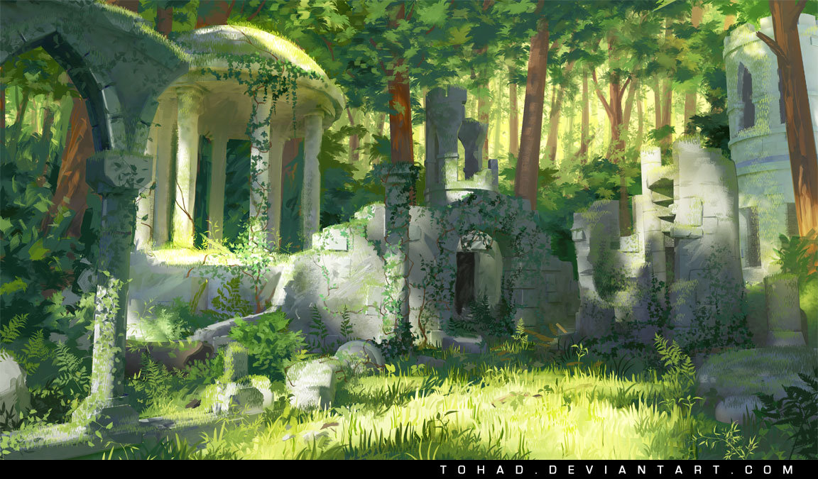 Sylvain sarrailh ruines