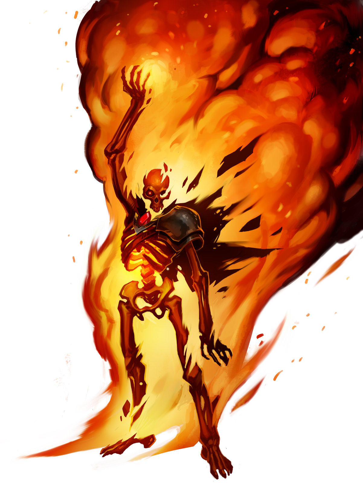 Burning Lich Titan