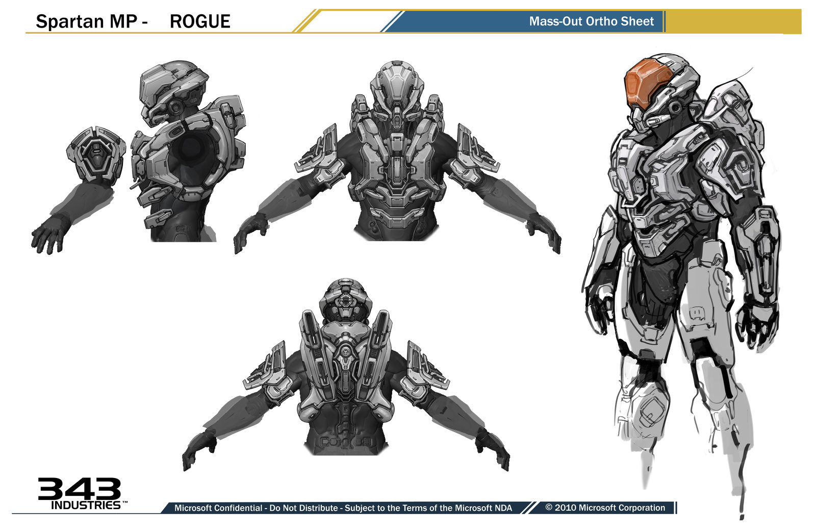 Rogue Armor for Halo 4