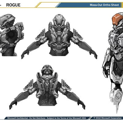 Kory hubbell mp armors final rogue