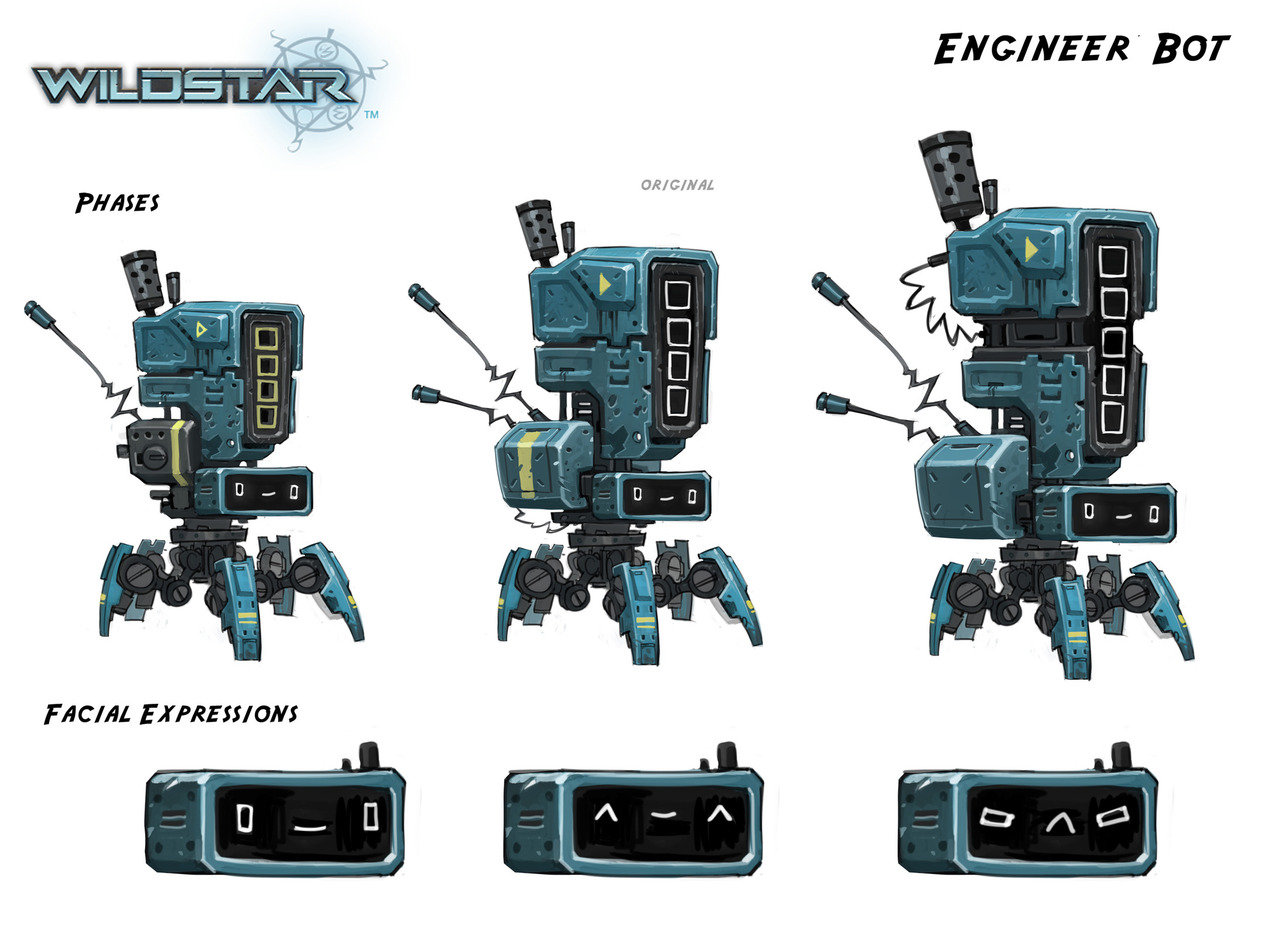 Engineer Bot- Wildstar
