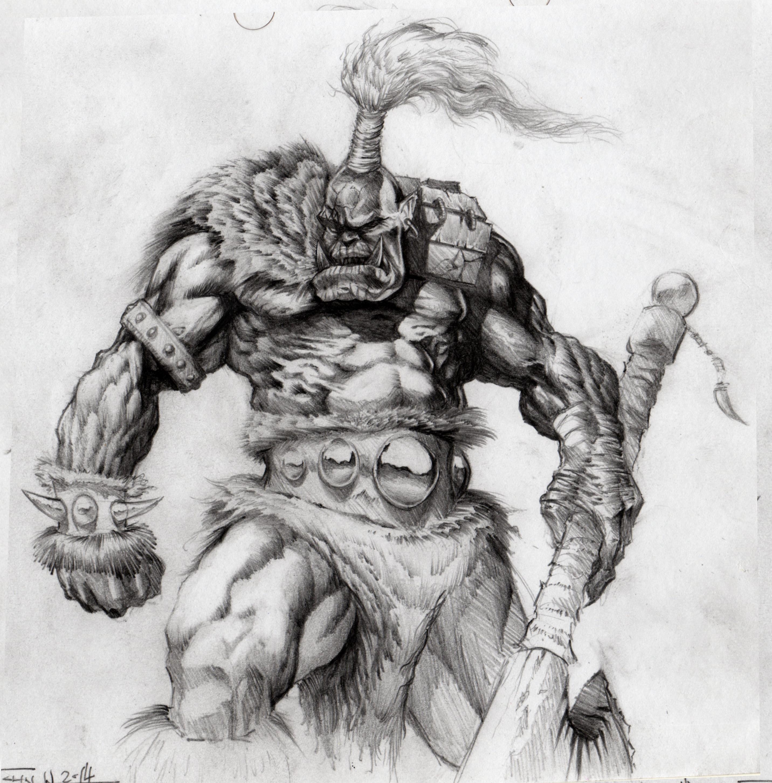 Ork Sketch