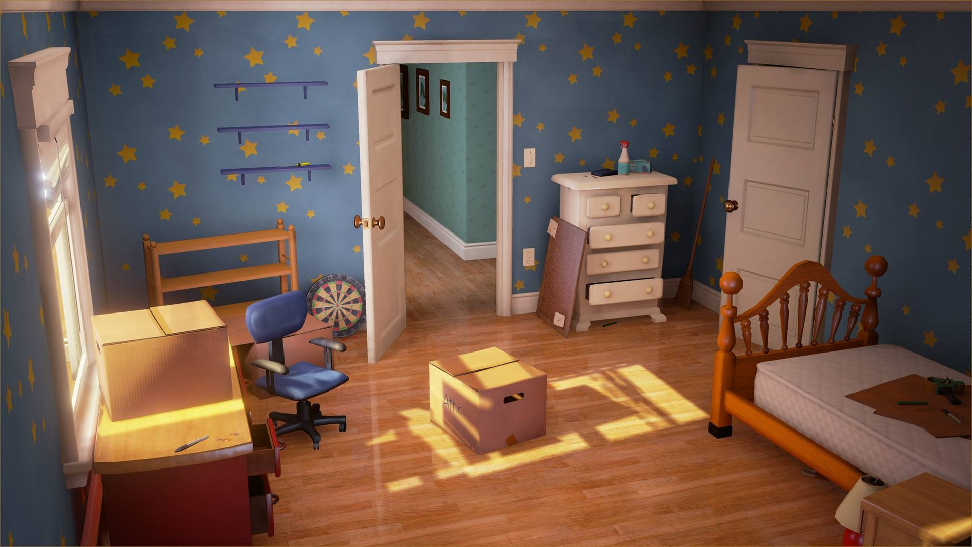 Artstation Toy Story Andy S Room Group Project