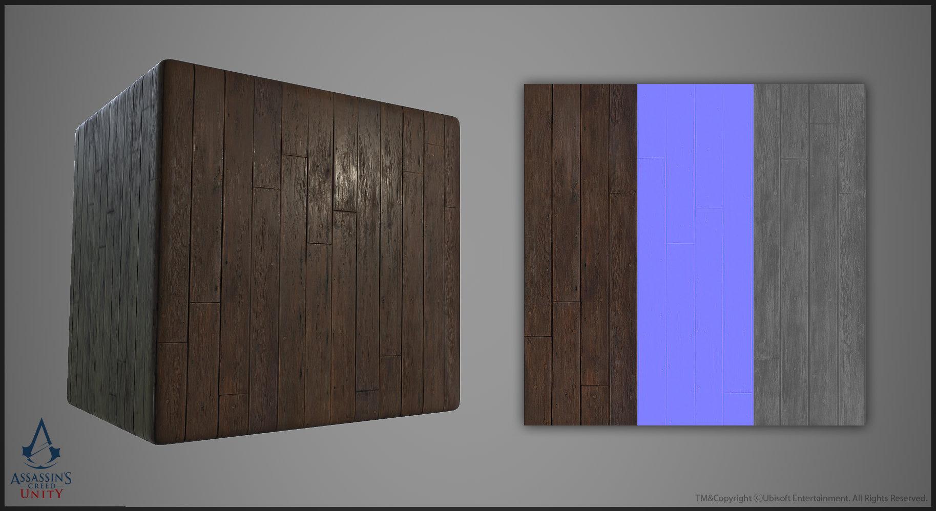 ArtStation - Assassin's Creed Unity Texture Set, Pierre FLEAU