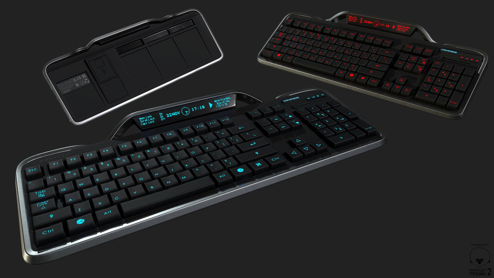 Ben bickle keyboard marmoset2