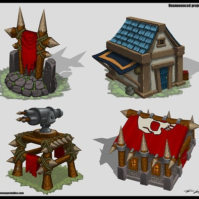 Travis lacey buildings concept art travis lacey
