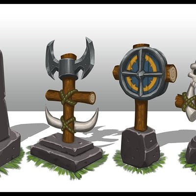 Travis lacey war totems concept art travis lacey