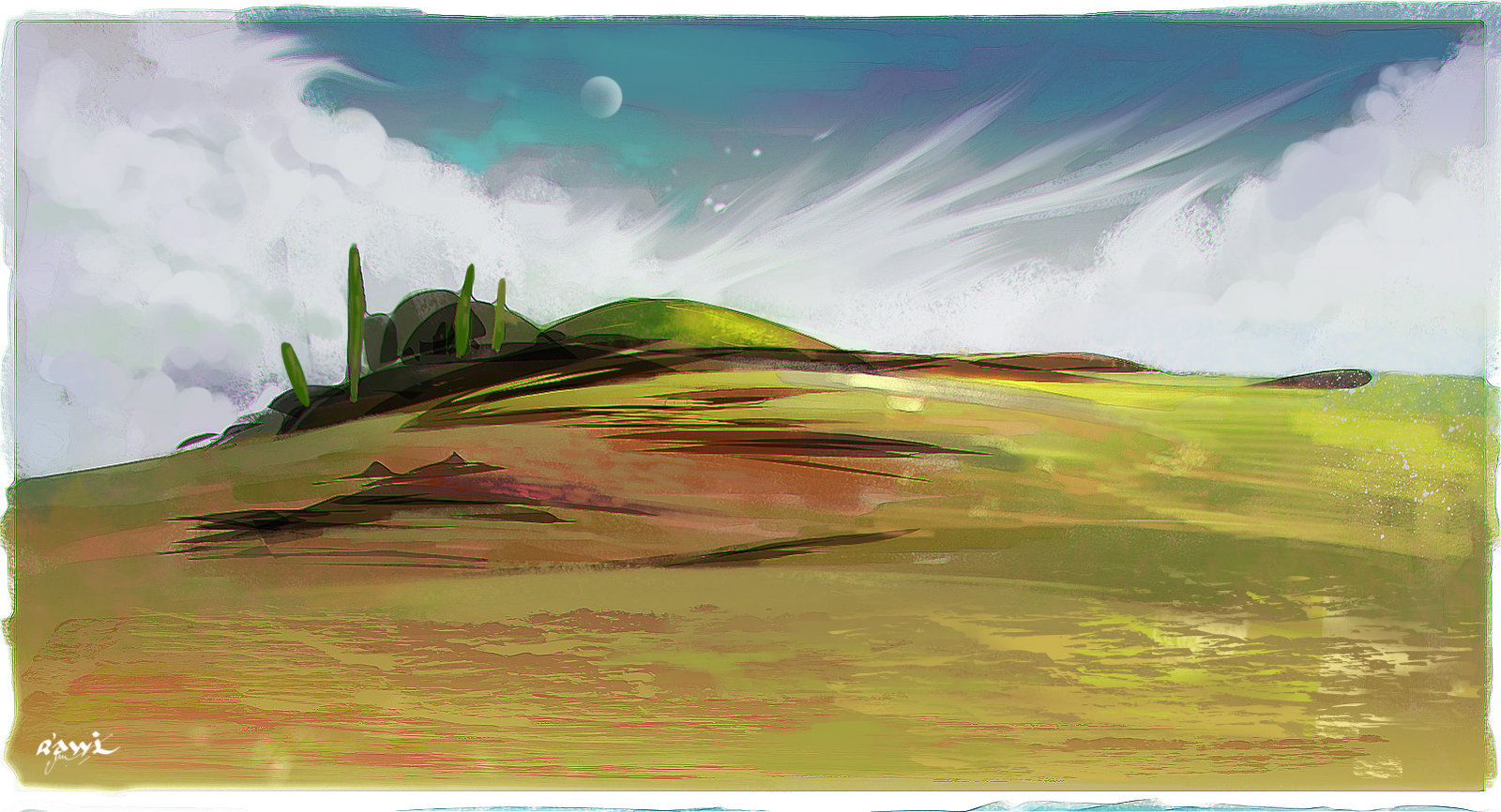 Landscape sketch #1