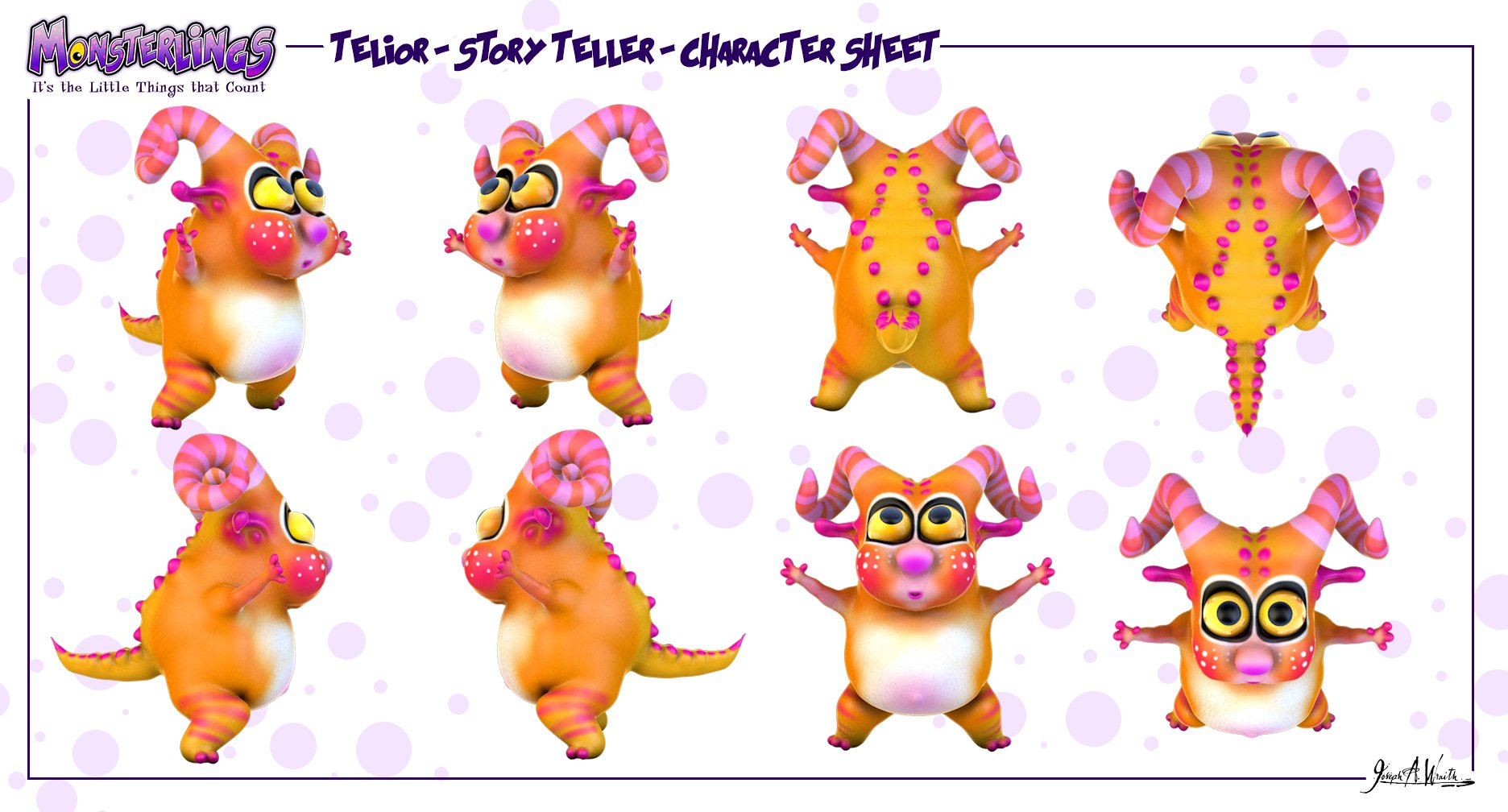 Monsterlings - Telior Physical Character Sheet