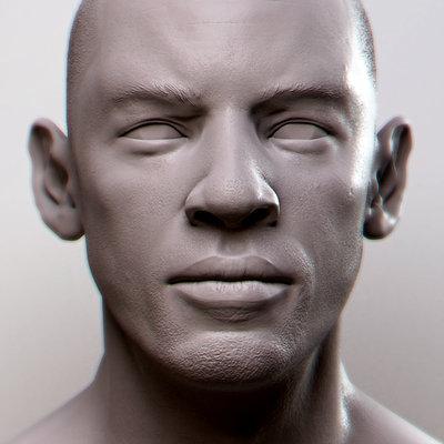Jay hill face render