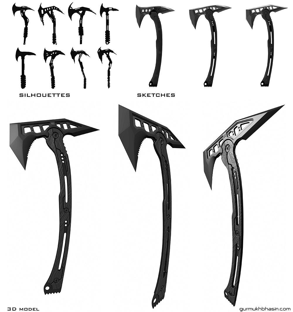 Gurmukh bhasin scifi tomahawk design page half