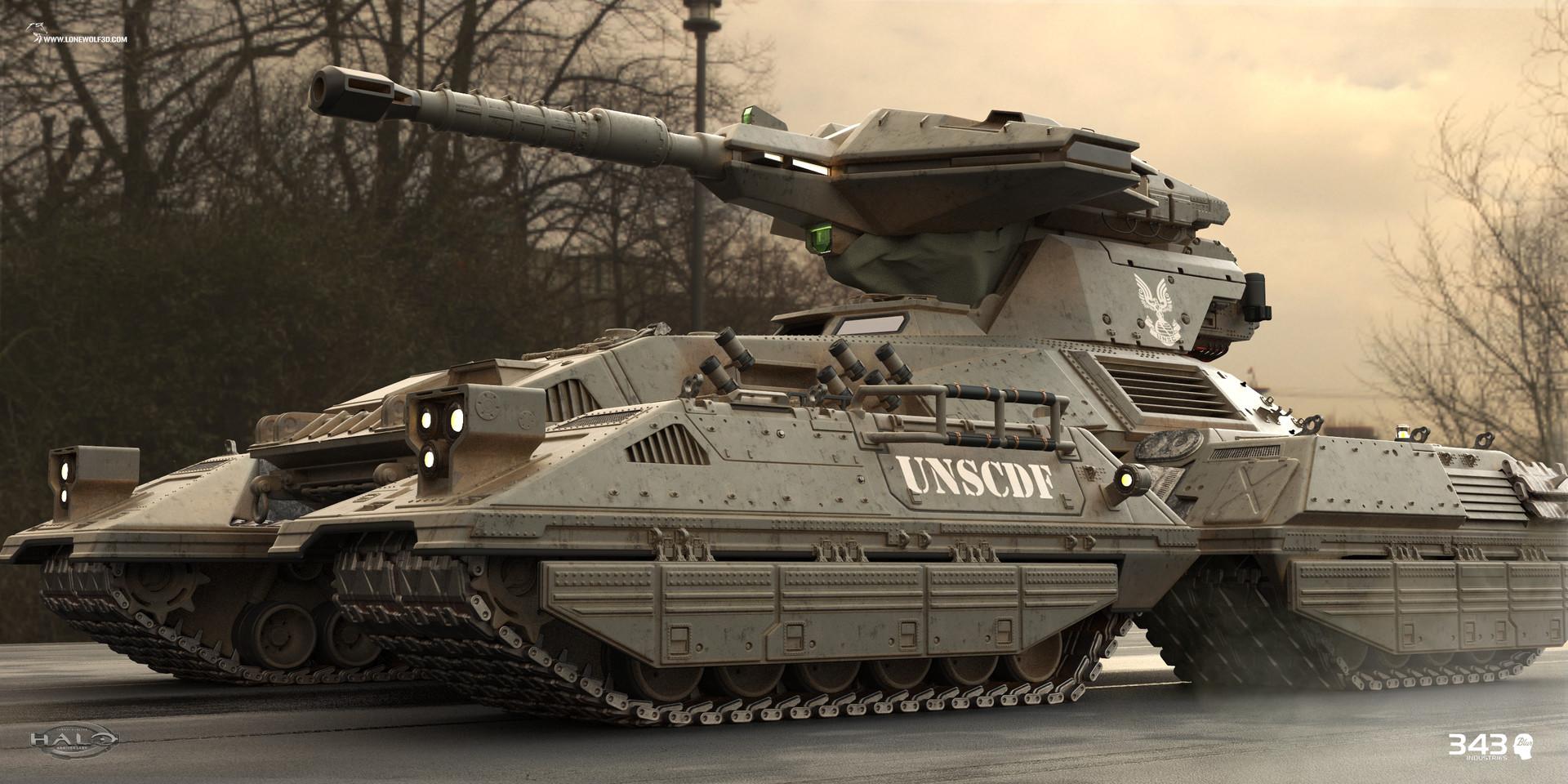 Reno levi halo anniversary scorpion tank 01