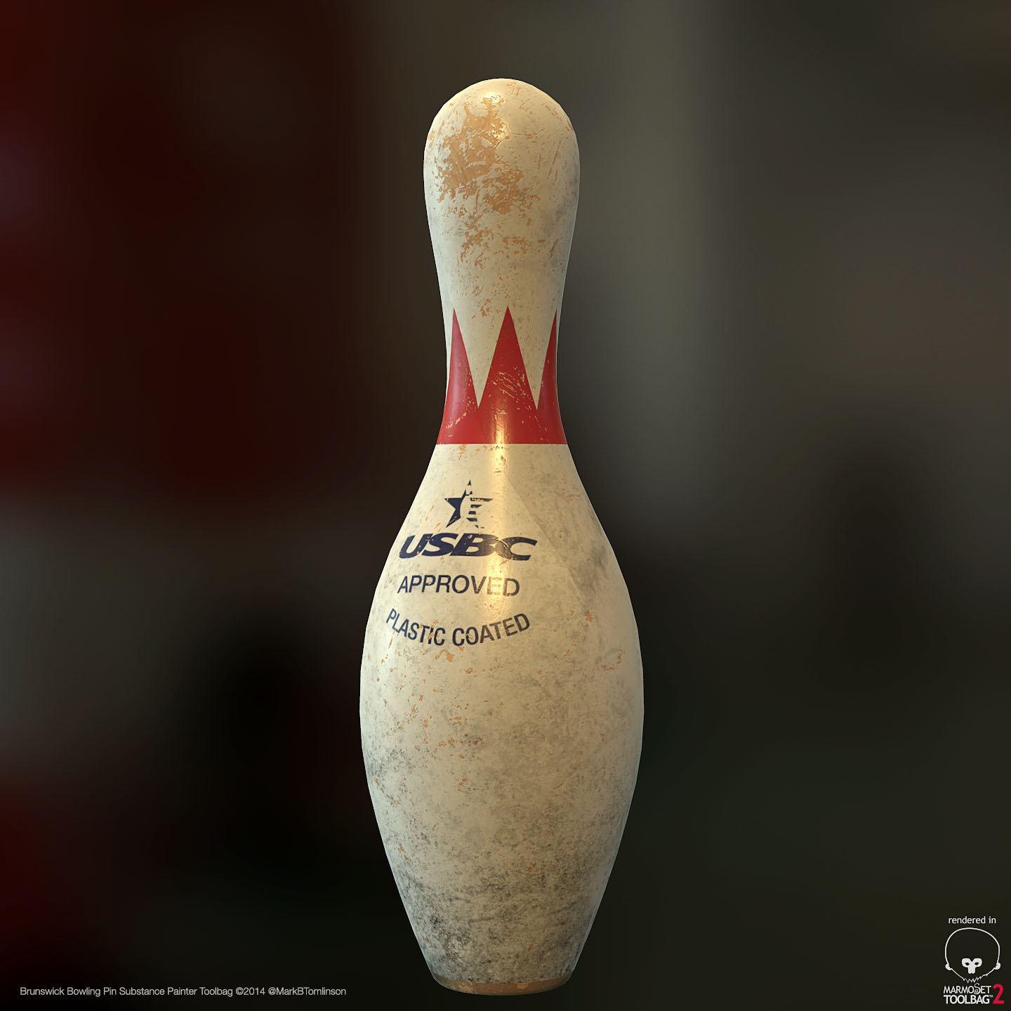 Brunswick Crown Bowling Pin
