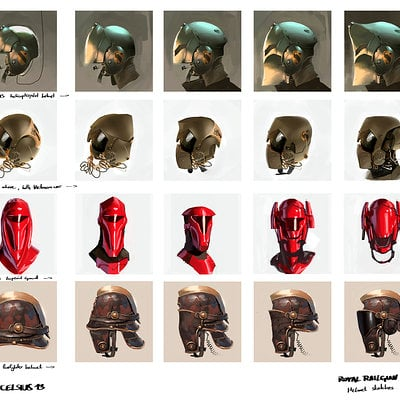 Jan wessbecher helmet studies