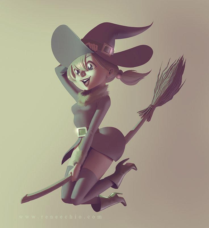 Renee chio brujasss