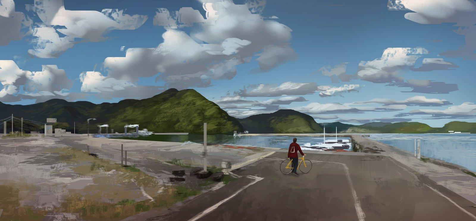 Nagasaki region (virtual plein air)