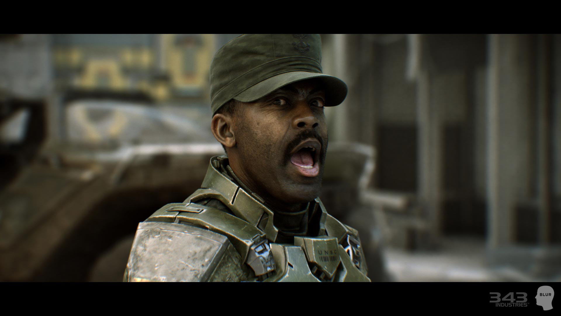 Jesse sandifer halo 2 anniversary sgt johnson
