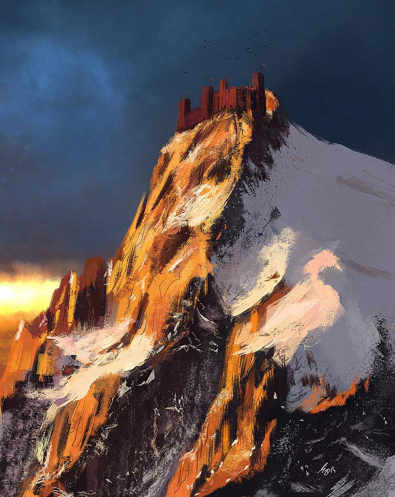 Raistlin majere red castle