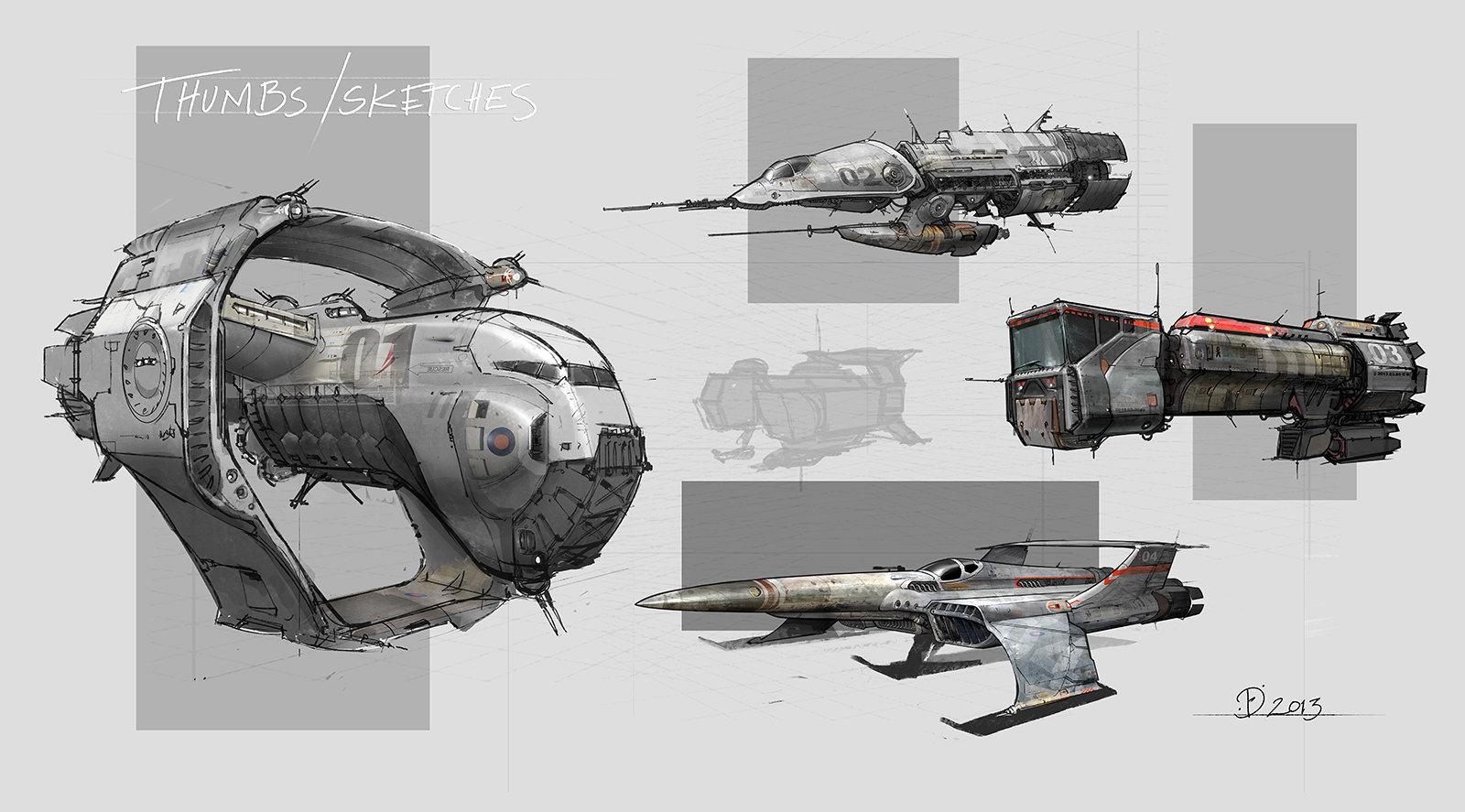 amazoncom blast spaceship sketches and renderings - HD1600×887