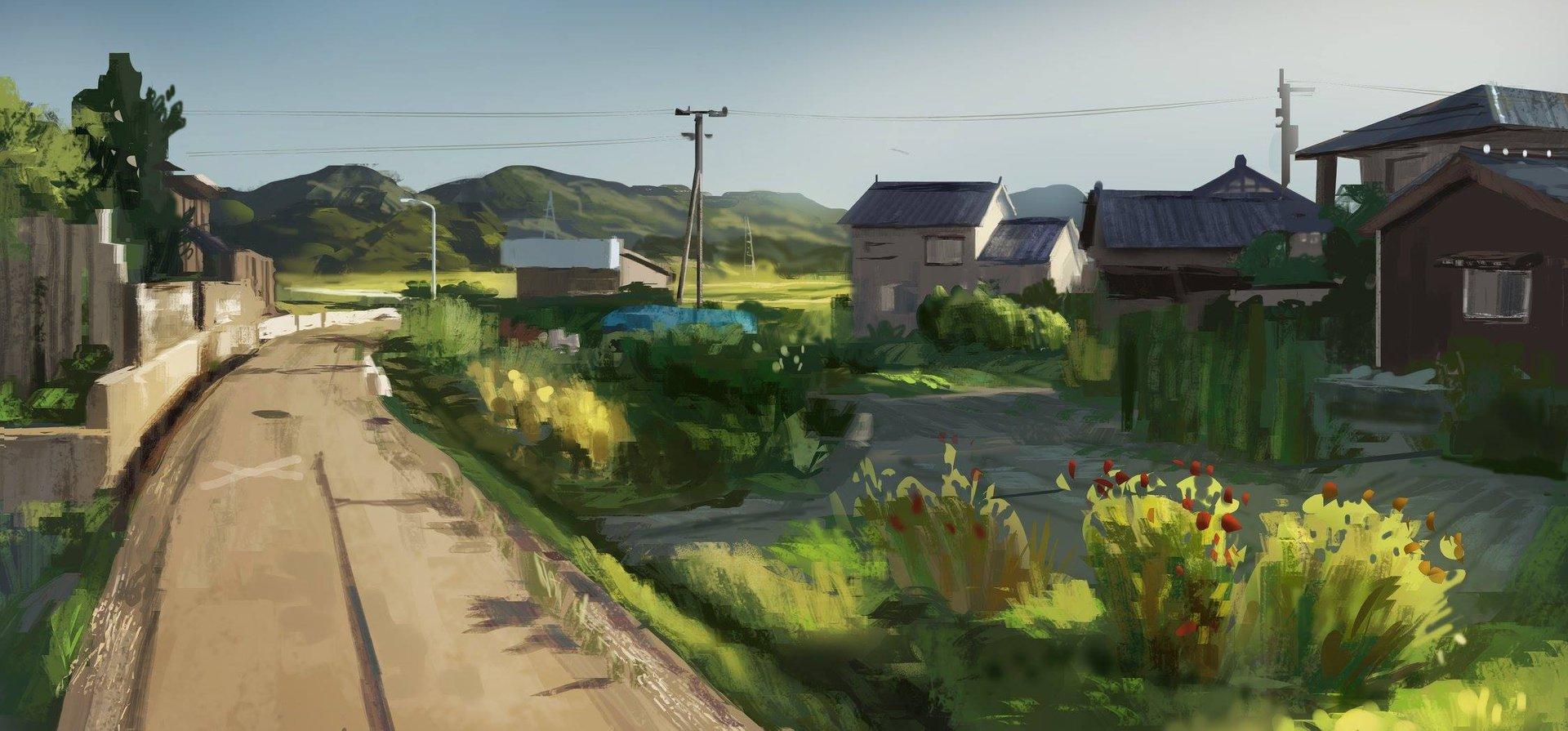 Japan Countryside  Study
