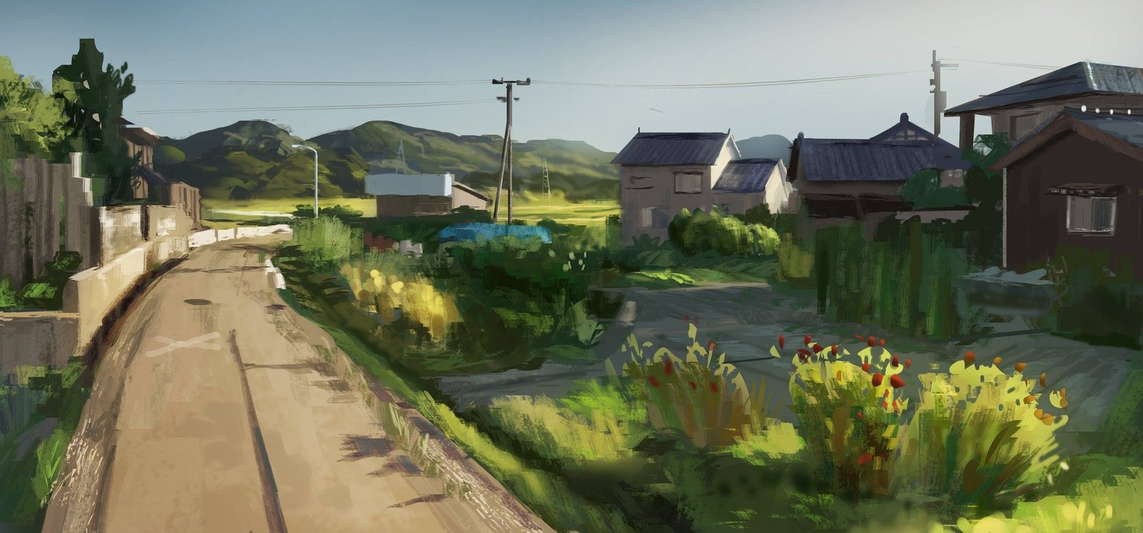 Japan Countryside - Virtual Plein Air 02