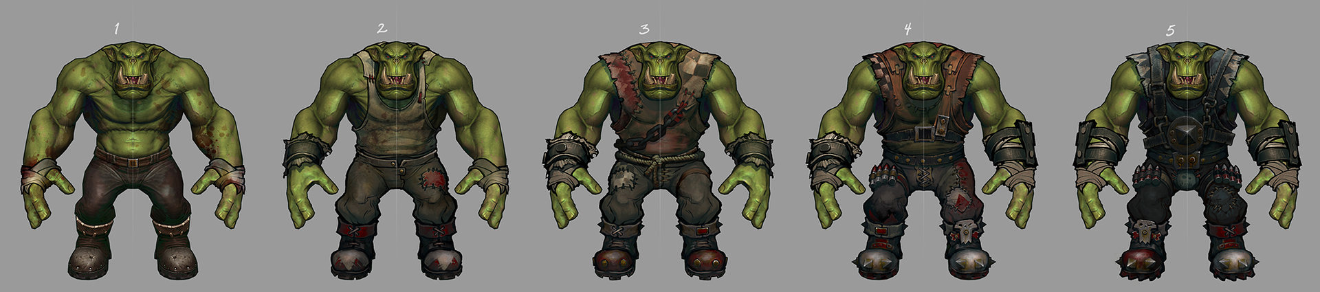 Ted beargeon ork champion tiers sk