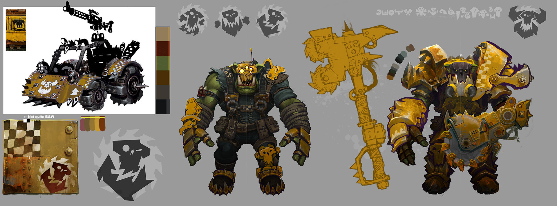 Ted beargeon ork rip jaw clan exploration