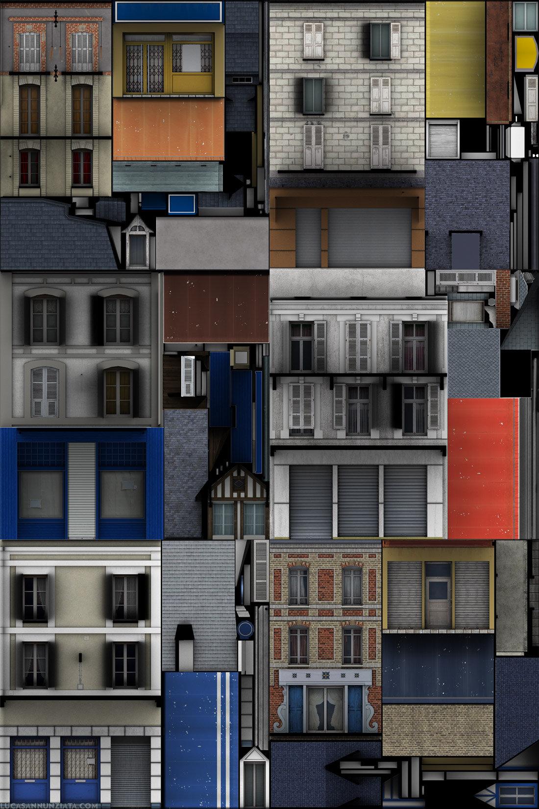 Lucas annunziata facade textures