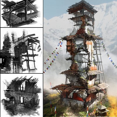 Ludovic ribardiere fc4 ds tower03 ludo wip03
