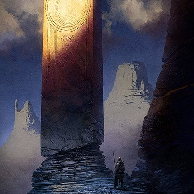 Christopher balaskas barbarian monolith as
