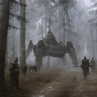 Jakub rozalski 1920 germany 01
