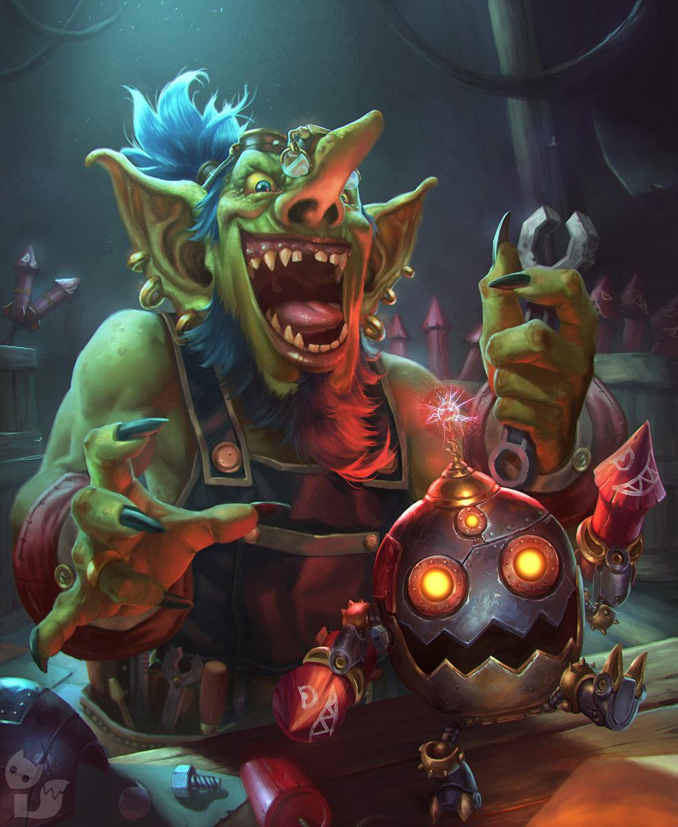 mad goblin technician