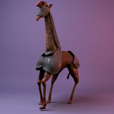 David cherrin giraffe thumb