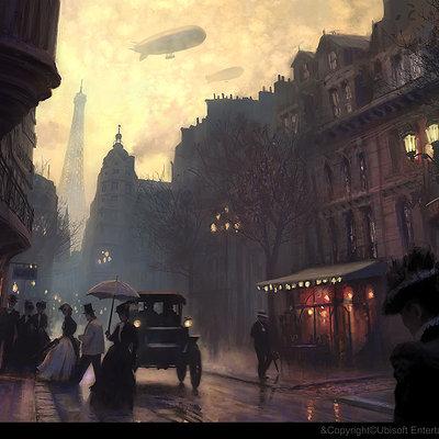 Gilles beloeil acu ev rue de paris belle epoque soir gbeloeil