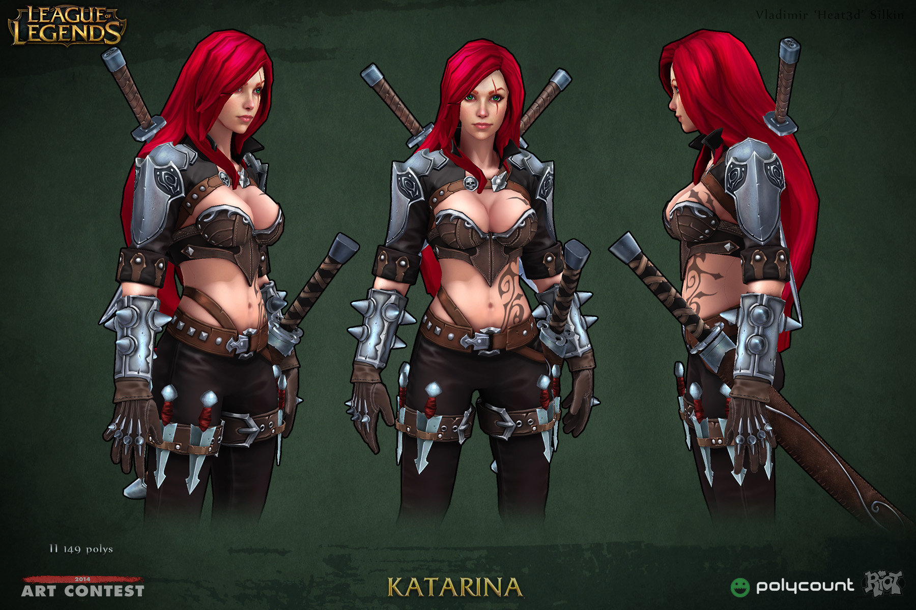 Katarina From League Of Legends