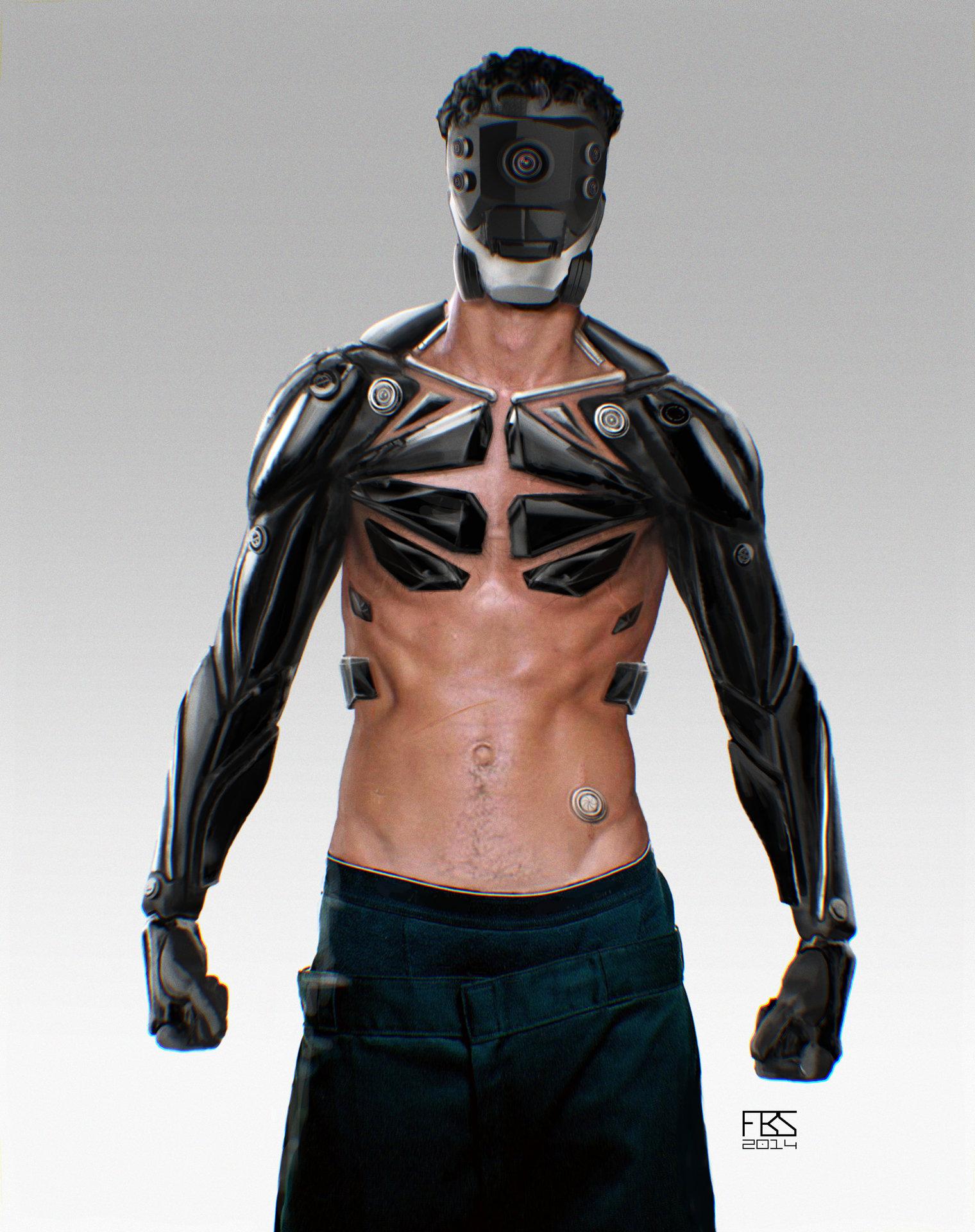 Artstation Cyborg Francisco Sequeira