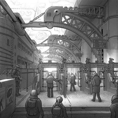 Martynas latusinskas train station
