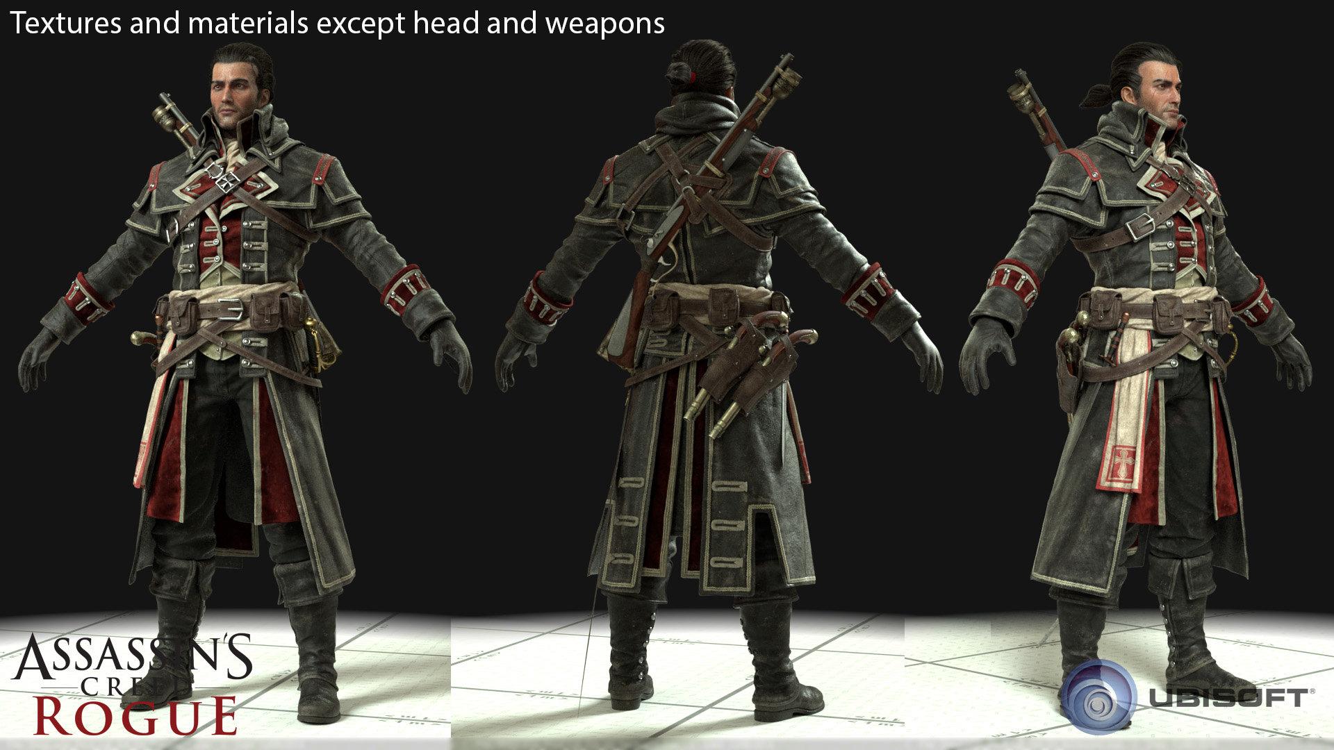 Artstation Assassin S Creed Rogue Cover Maximilien Albert