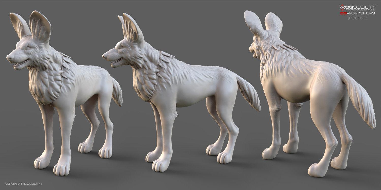 John deriggi wilddog sculpt 2 1