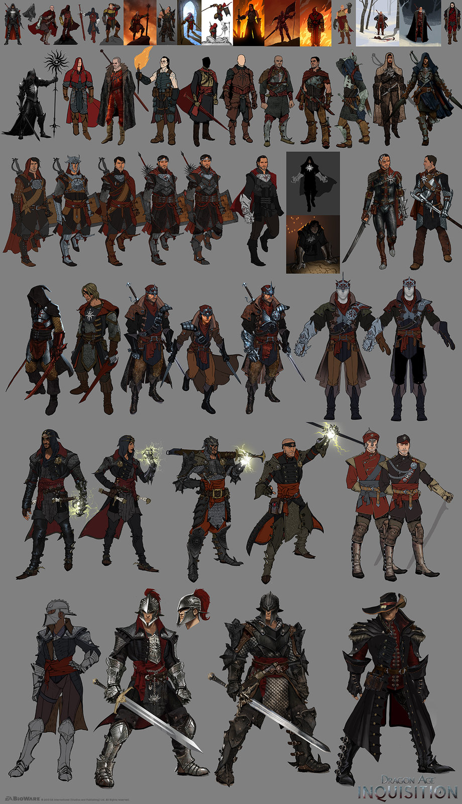 DA:I - Some Inquisitor Development