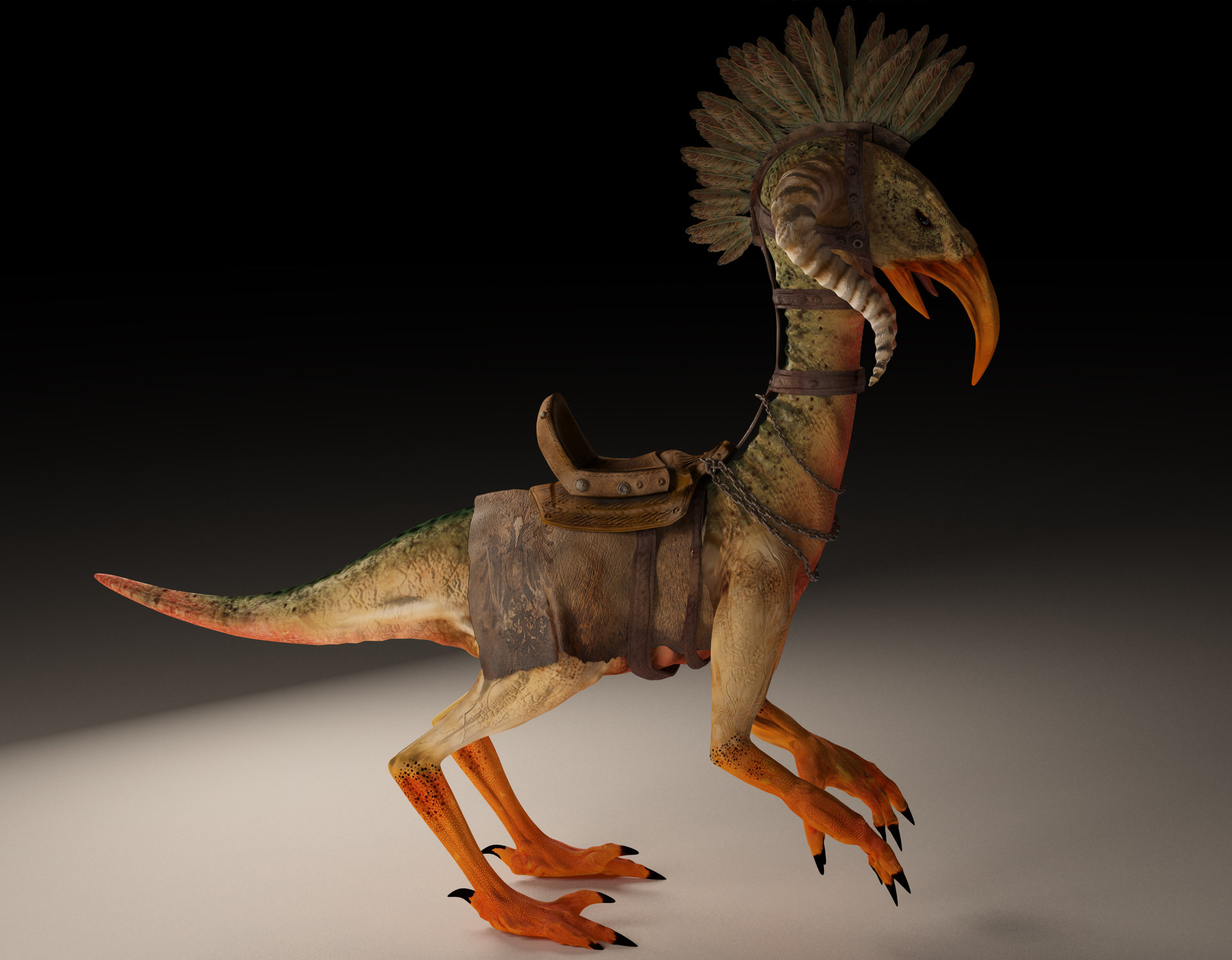 Oscar Jimenez Prehistoric Bird