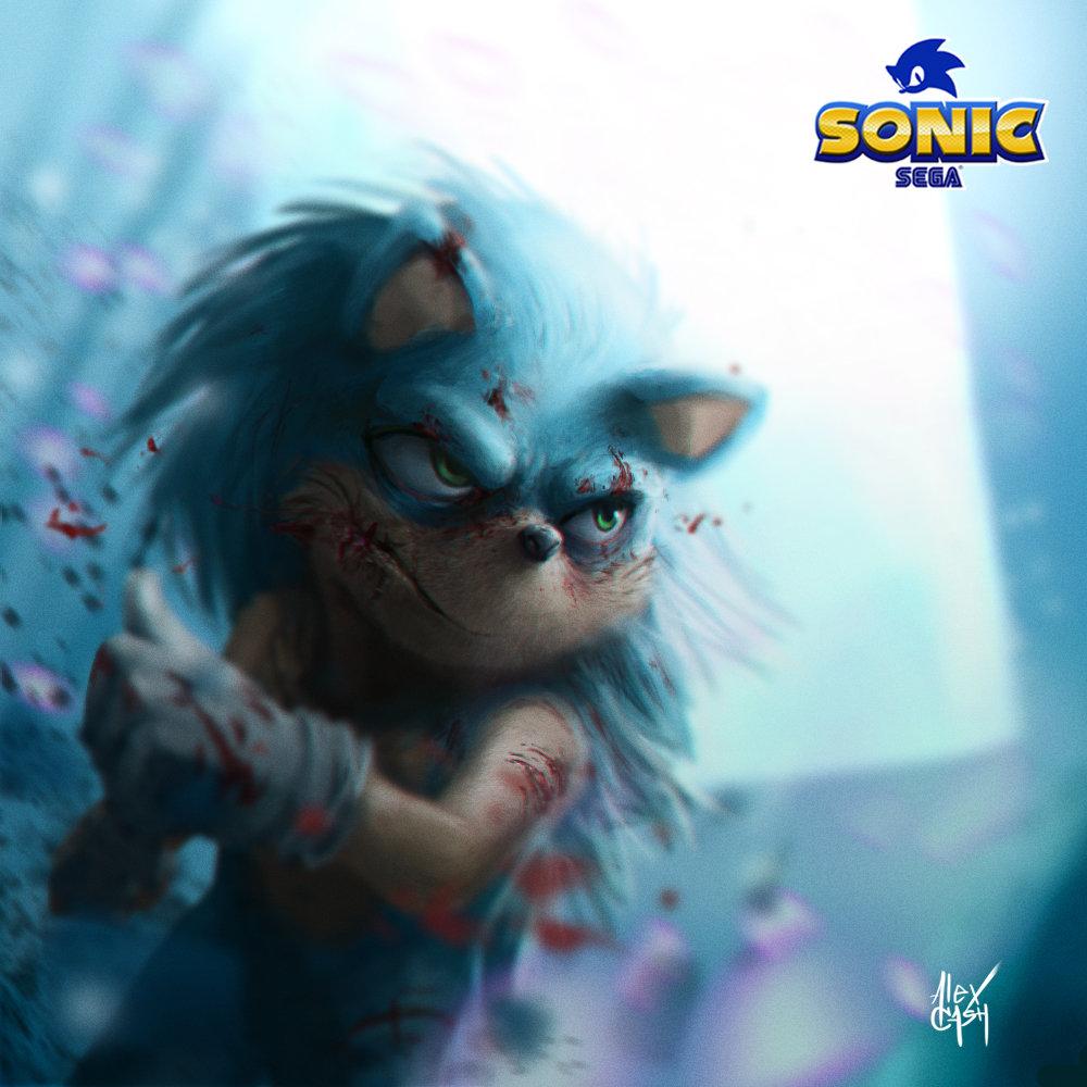 Artstation Sonic The Hedgehog Alex Cash