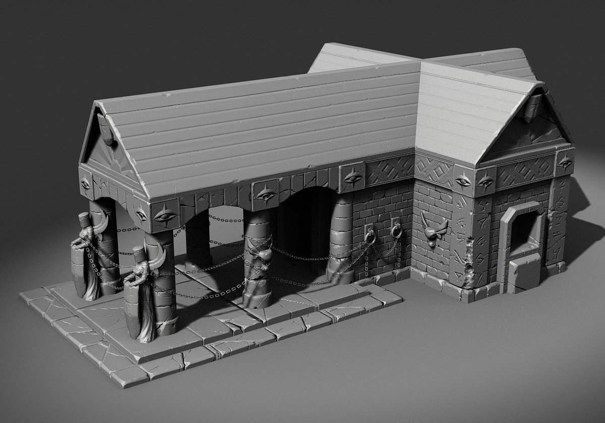 Low Poly with Normals