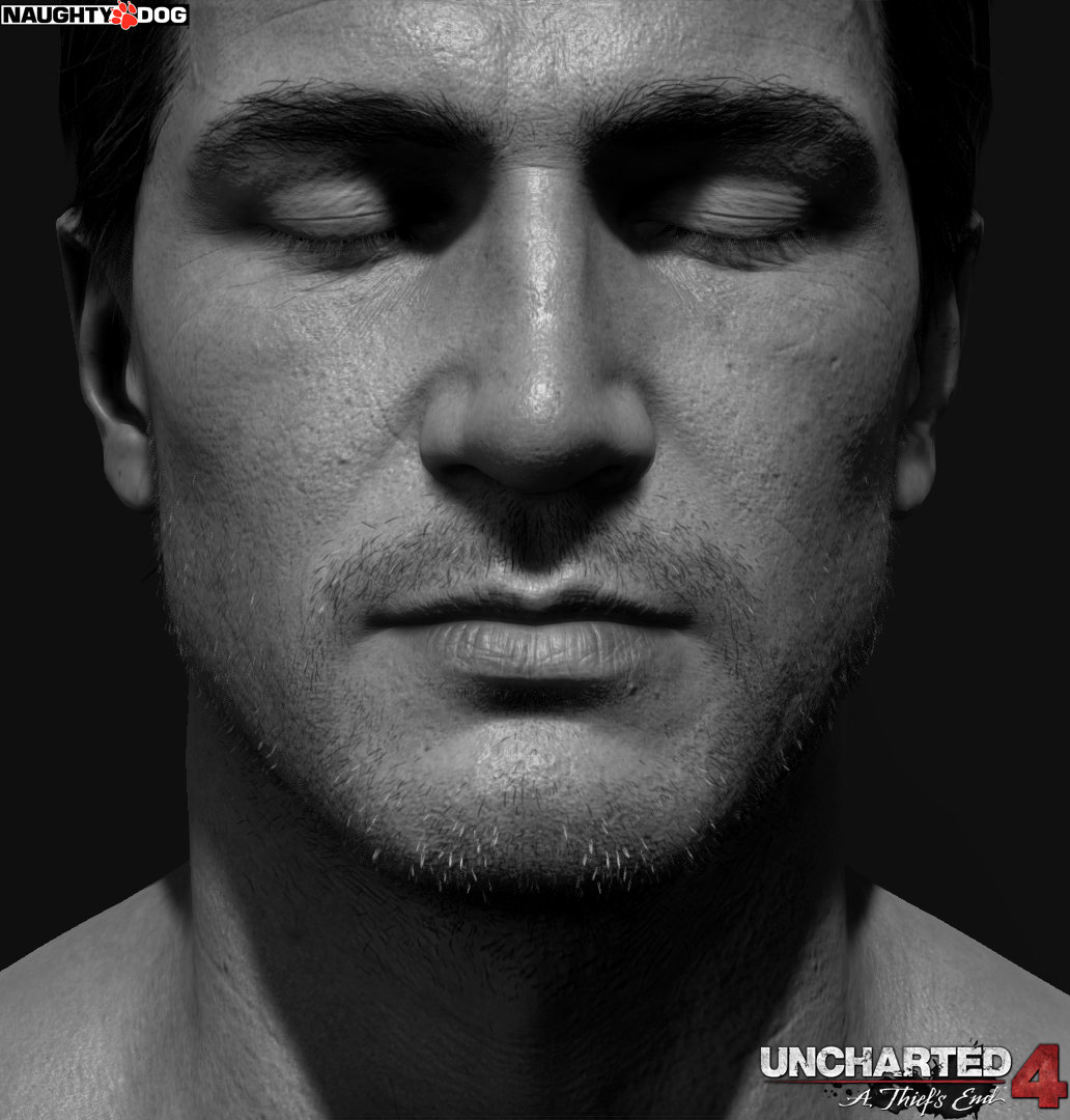 Artstation Nathan Drake Uncharted 4 Head And Arm Details Frank