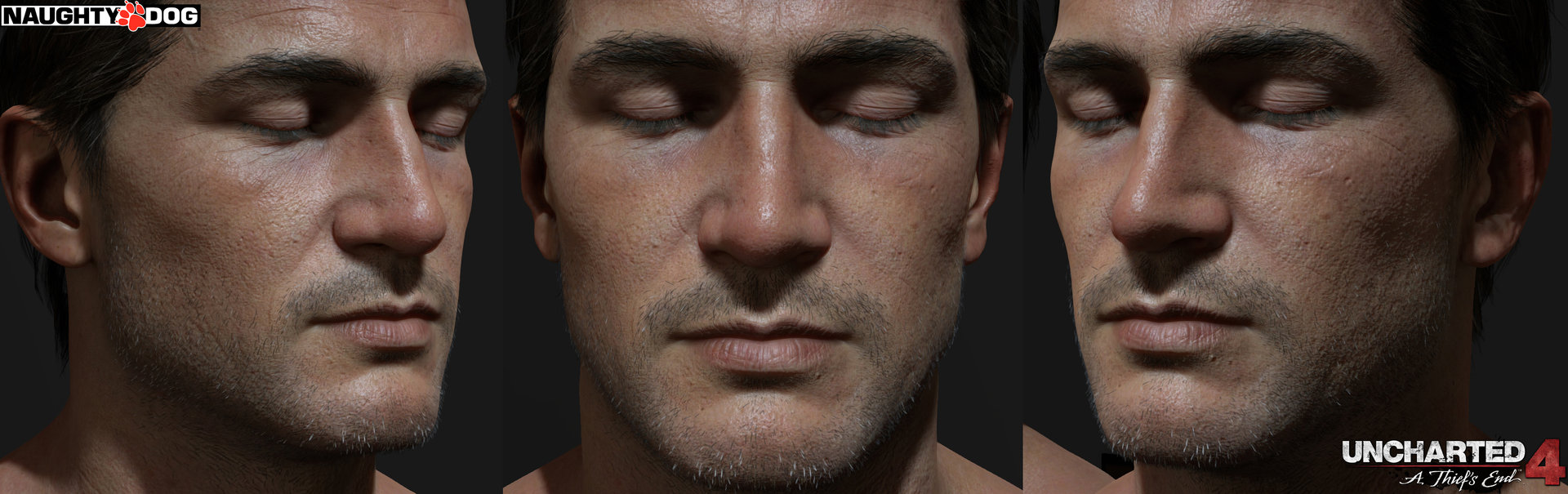 uncharted 4 nathan drake hairstyle