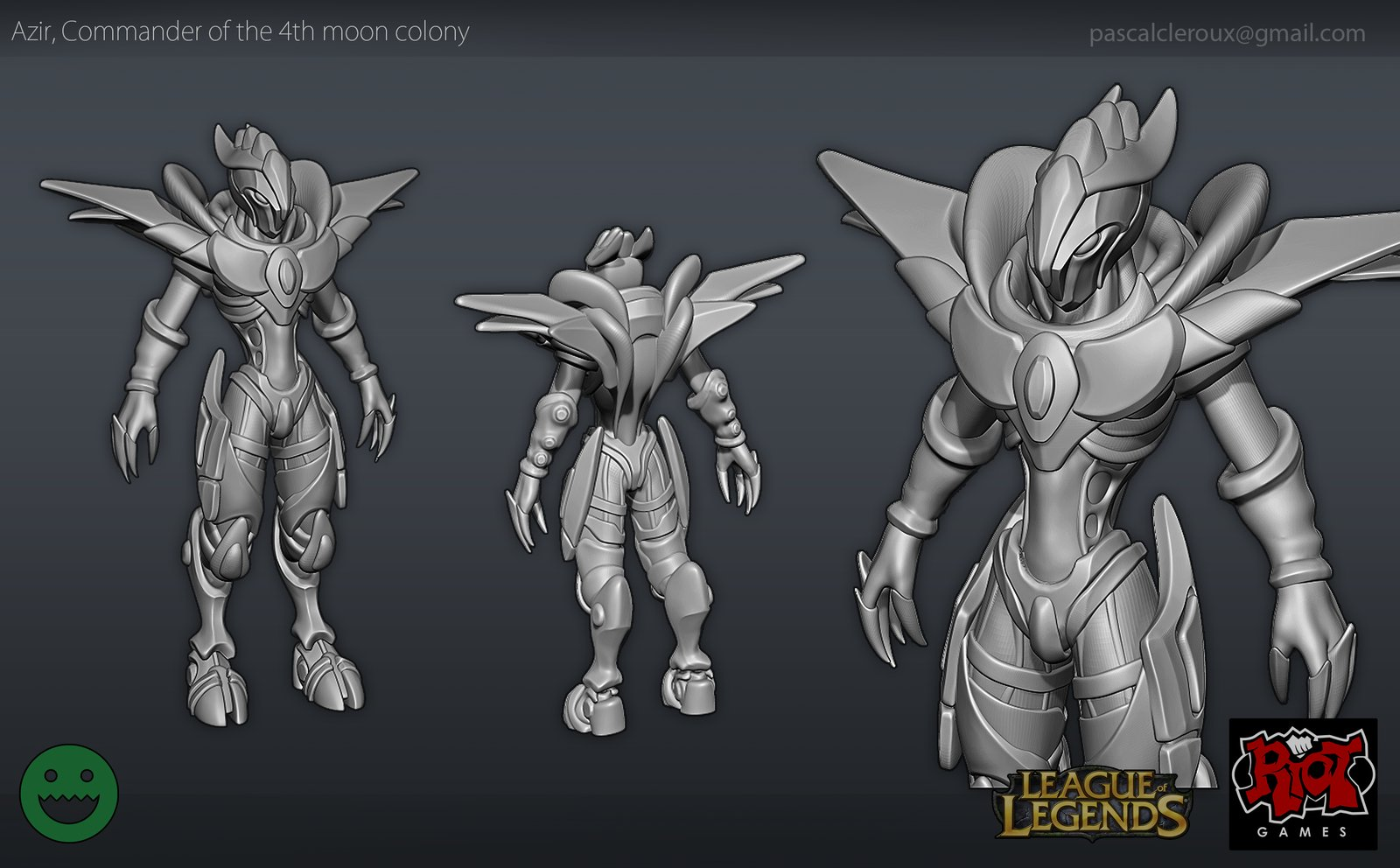 Riot League of Legends Contest Sculpt