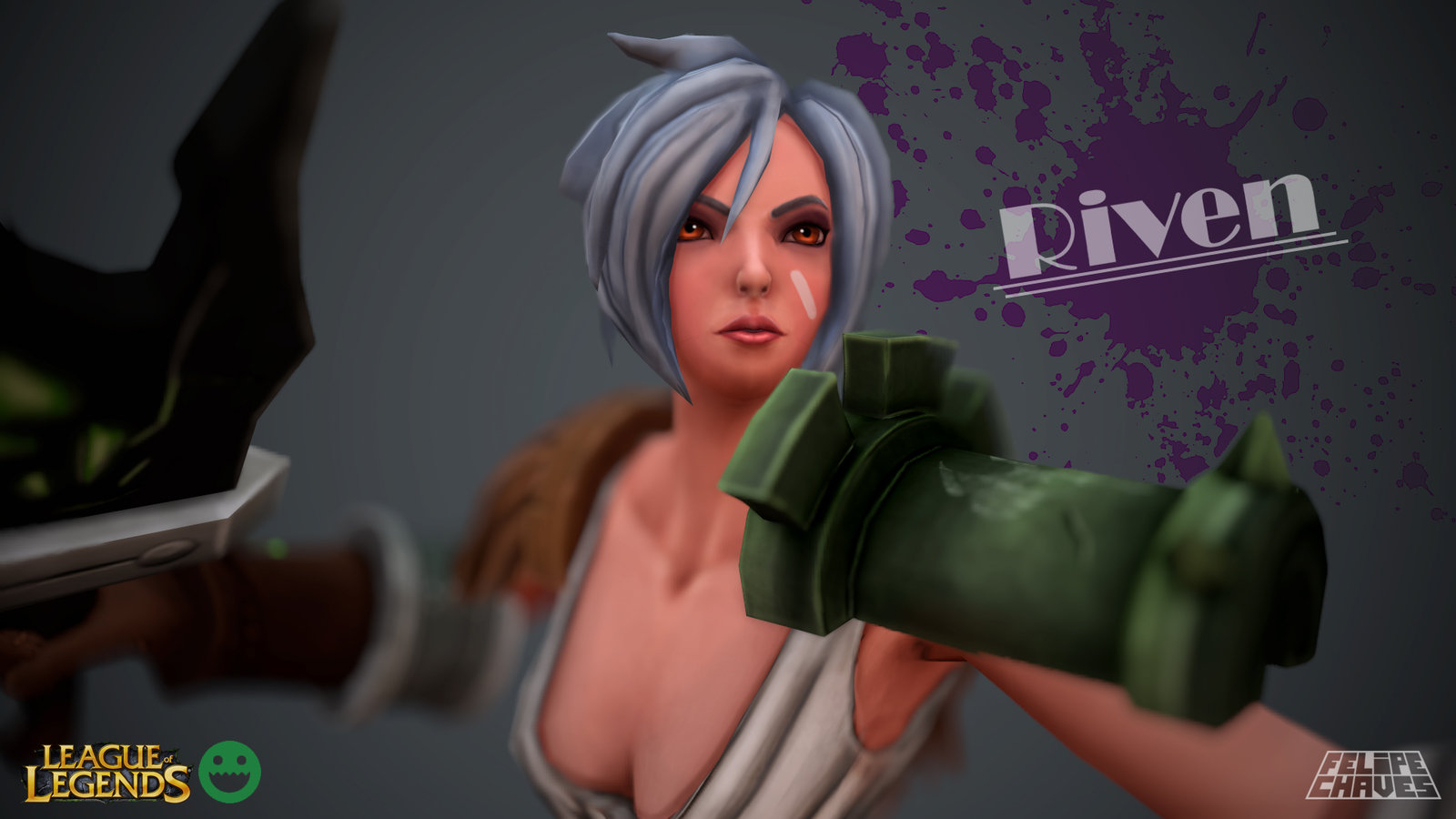 Riven - League of Legends - WIP
